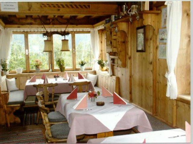 Bärenbichl Gastraum