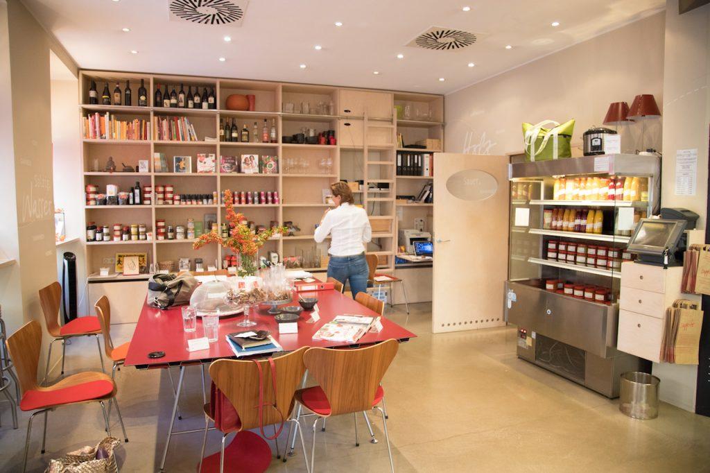 Suppito in Wien Verkaufsraum