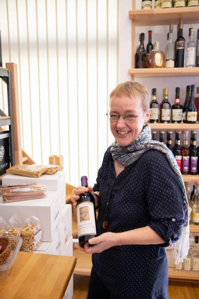 Karen Schröder Berg in ihrem Laden