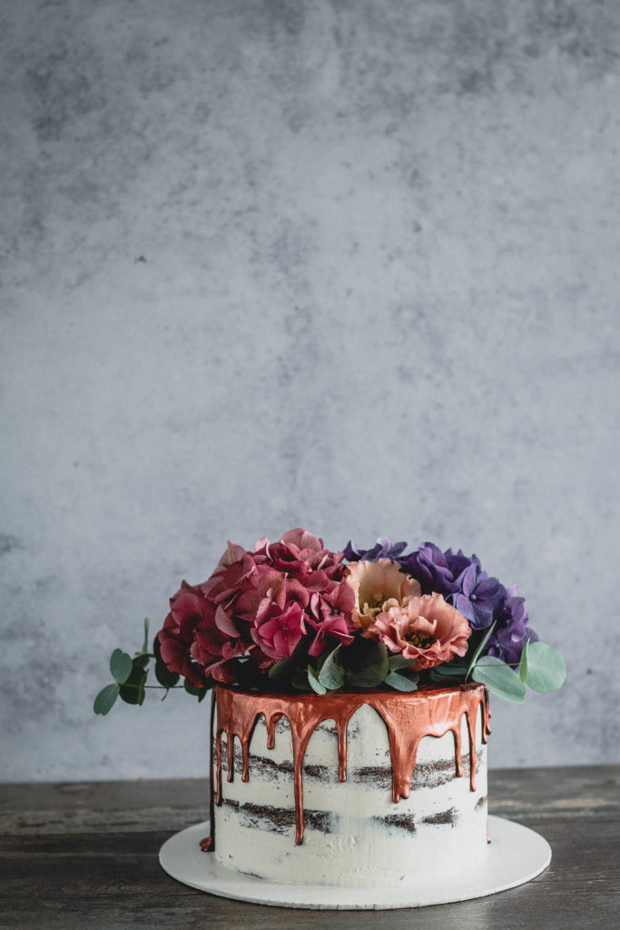 Julia Mauracher Copper Drip Cake