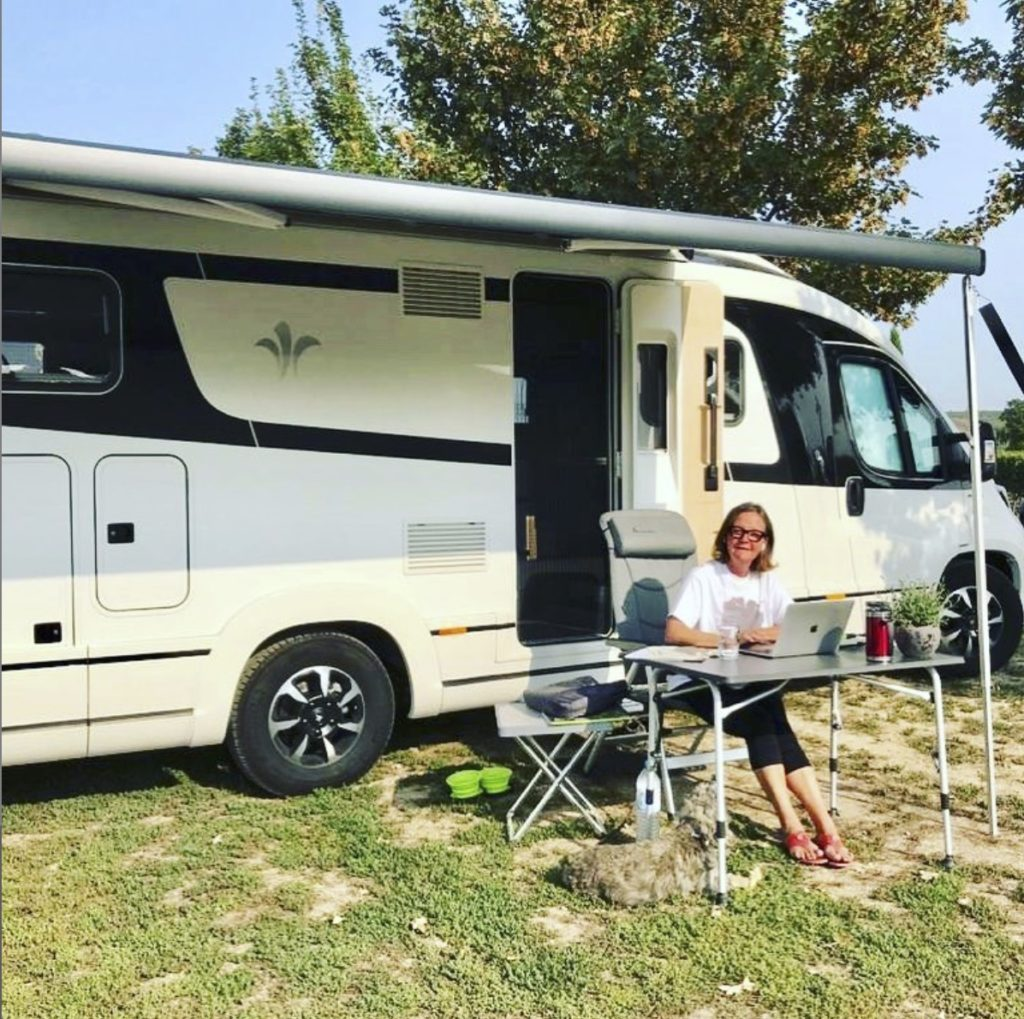 Beate E. Wimmer on tour