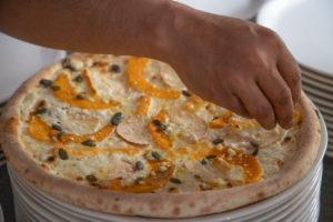 Julia Degens Pizzas im Pizzazza