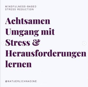 MBSR Kurs Nadine Hüttenrauch, Herausfoderungen lernen, Culinary Ladies
