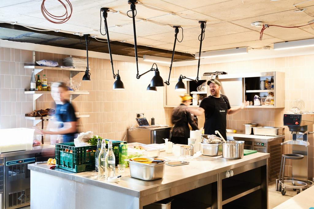 Produktionsküche Foodlab Hamburg