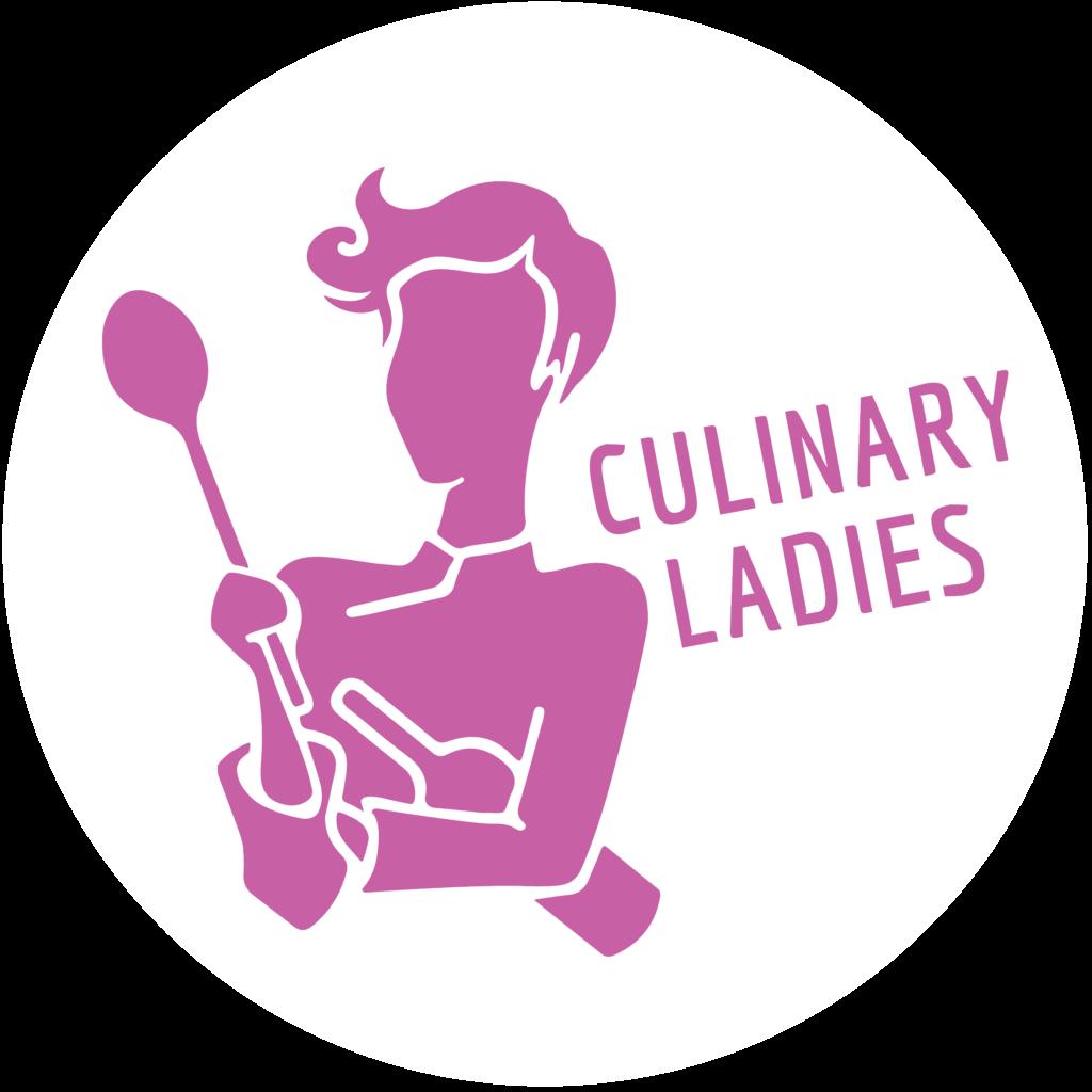 Culinary Ladies Logo, fuchsia auf weiss